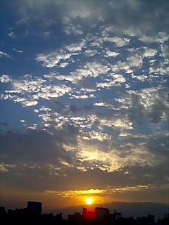 夏空の夕焼け時.jpg