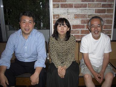 れんが屋での谷山さん&奥田さん