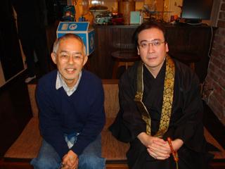 鈴木さんと石上住職