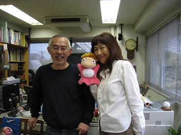 鈴木敏夫&矢野顕子さん