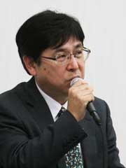 林野庁林政部木材利用課長 <br /> 阿部勲さん<br />
