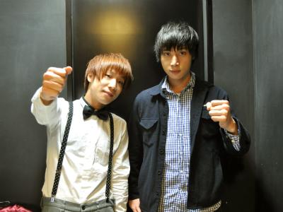 本日の特別講師は、go!go!vanillasの牧達弥さんと長谷川プリティ敬祐さんです!