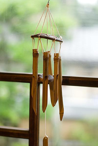 『竹の風鈴』
