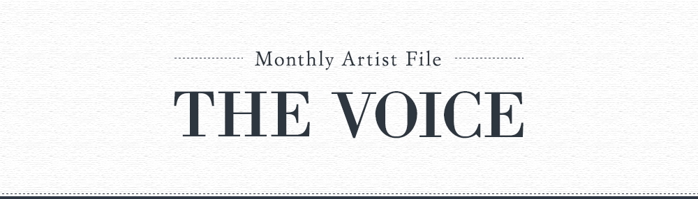 Monthly Artist File -THE VOICE- メッセージフォーム