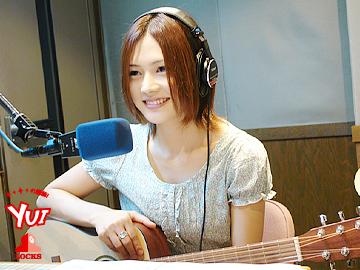 ラジオ収録yui